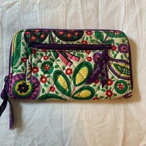 Vera Bradley Purple Wallet
